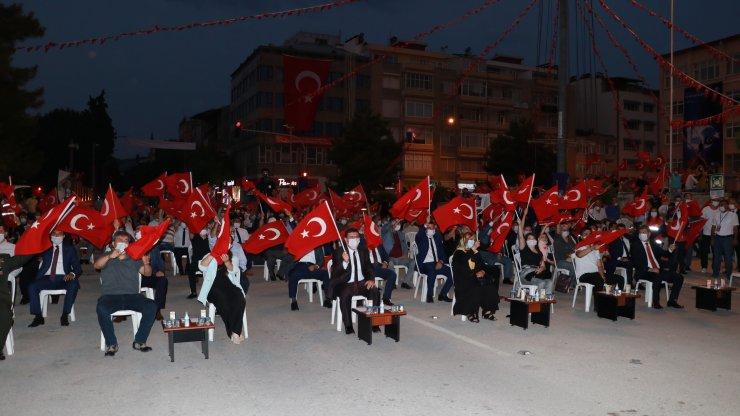 Burdur'da 15 Temmuz anması