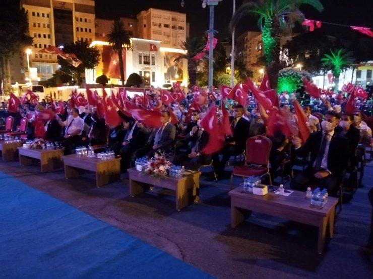 Hatay'da 15 Temmuz Demokrasi ve Milli Birlik Günü programı düzenlendi