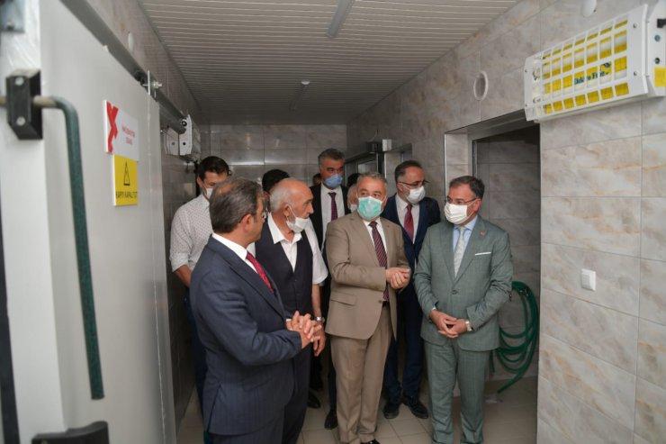 Kayseri'de manda sütü işleme tesisi açıldı