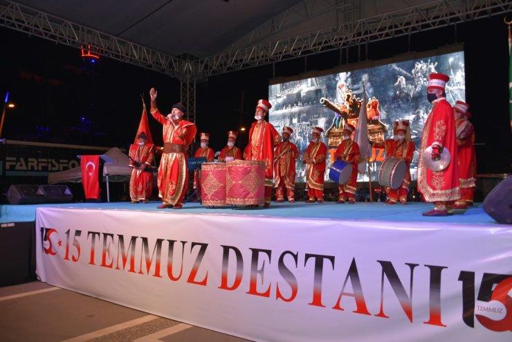 Marmaris'te 15 Temmuz Demokrasi ve Milli Birlik Günü etkinliği