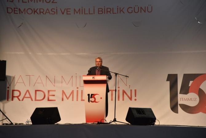 """Başkan Çerçi: """"Bu millet mazluma umuttur"""""""