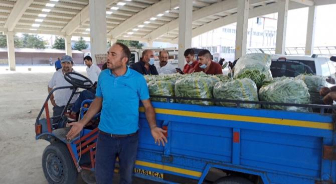 Taze fasulye fiyatı ile ne üreticiyi ne de alıcıyı memnun etti