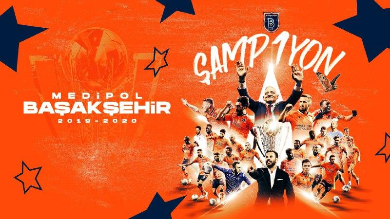 Başakşehir, 2019-2020 Süper Lig Cemil Usta Sezonu'nun şampiyonu oldu!