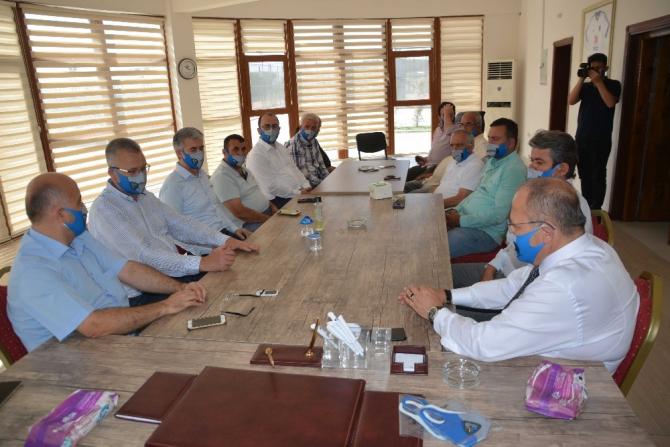 Karacabey kent protokolünden 'şampiyona' ziyaret