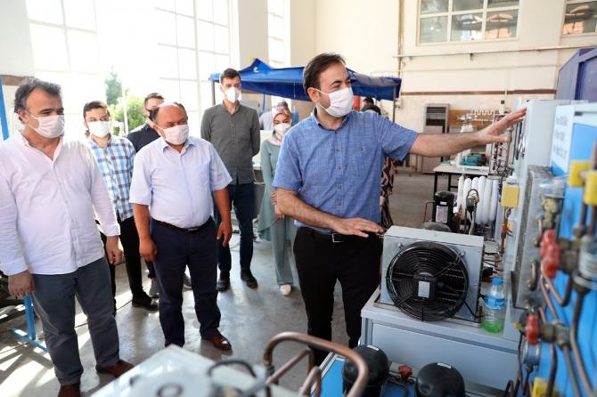 AB'den SUBÜ'ye yenilenebilir enerji projesi desteği
