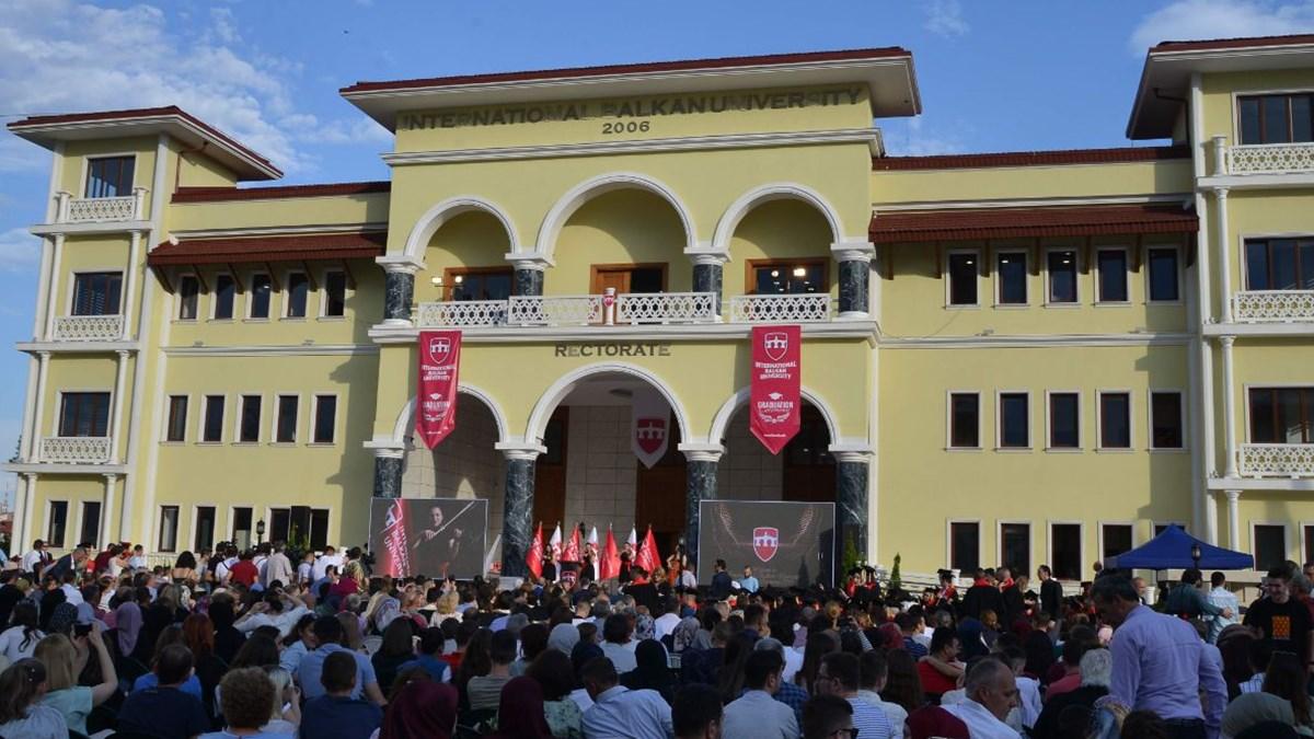 Uluslararası Balkan Üniversitesinden öğrencilere önemli fırsat