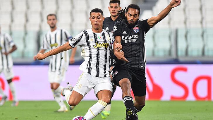 Lyon'u 2-1 deviren Juventus'a, galibiyet yetmedi!