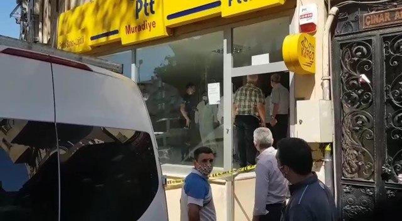 Bursa'da intihar şoku! PTT çalışanı şubede kendini astı