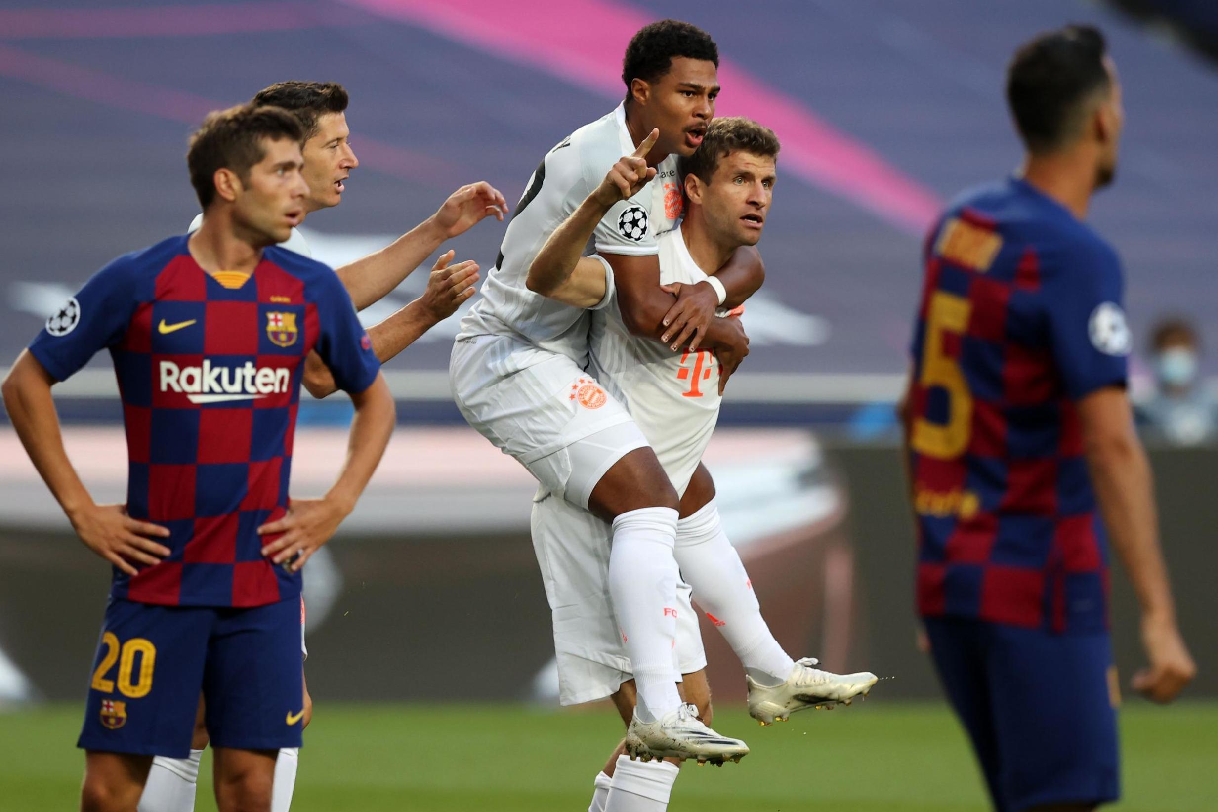 Bayern Münih, Barcelona'yı parçaladı: 8-2