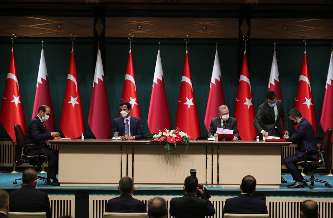 Tarihi an gerçekleşti! Türkiye ile Katar arasında anlaşmalar imzalandı