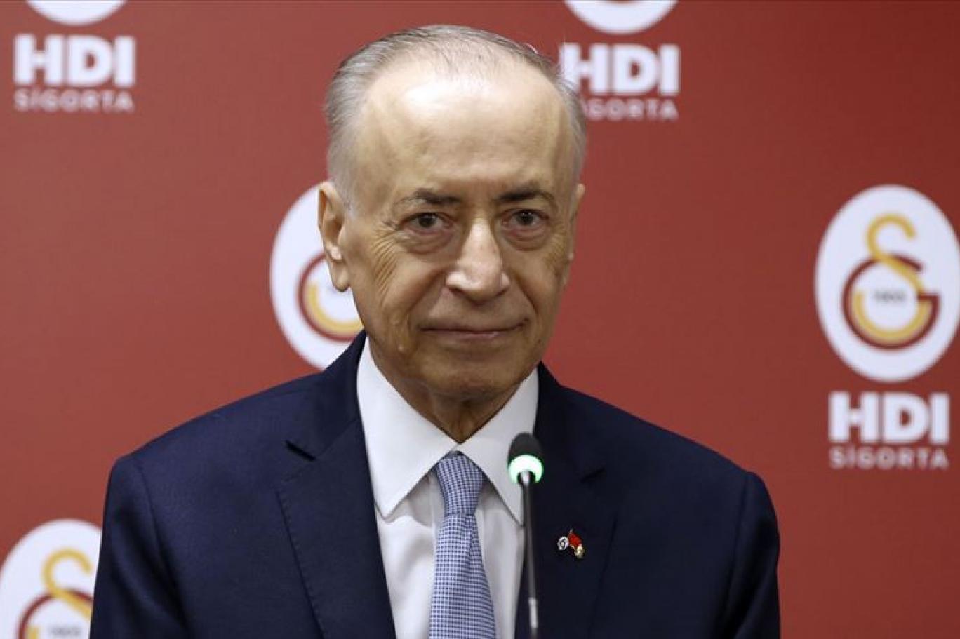 Galatasaray Başkanı Mustafa Cengiz: Gelirlerimizin büyük çoğunluğuyla borç ödüyoruz