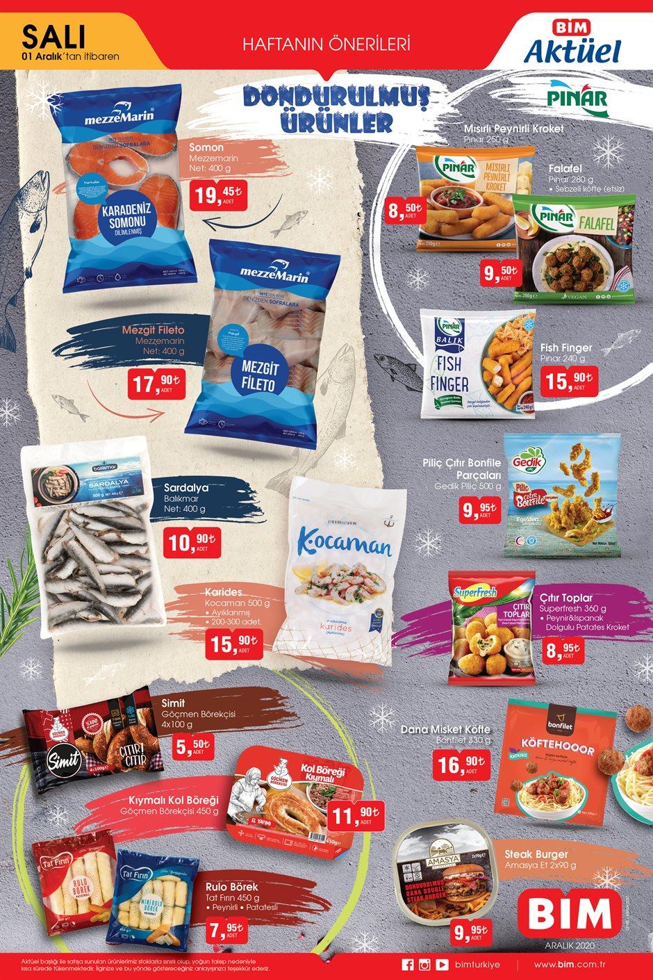 2 Aralık BİM 2020 kataloğu | BİM'in sunduğu haftanın yeni ürünlerini kaçırmayın!