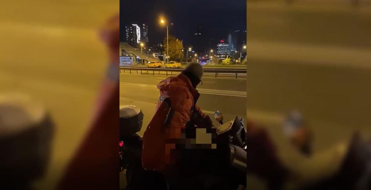 İstanbul Göztepe'de skandal olay! Genç kızı taciz etti, yol kenarında mastürbasyon çekti
