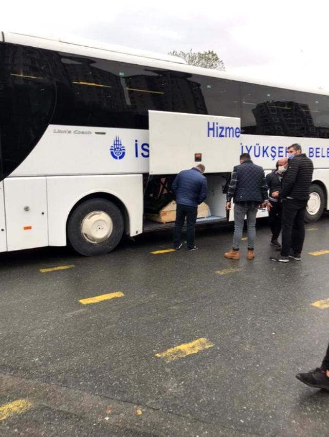 İstanbul'da cenazeler otobüs bagajında taşındı!