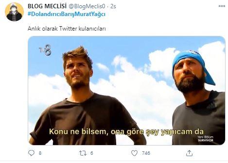 Barış Murat Yağcı Twitter paylaşımları ne anlama geliyor? | Dolandırıcı Barış Murat Yağcı paylaşımlarının sebebi ne?