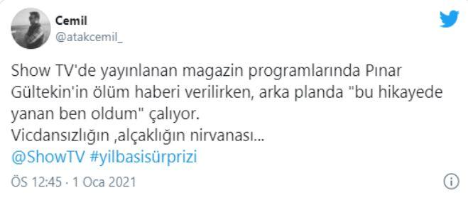 Show TV'den Pınar Gültekin Skandalı! Yayınladıkları videoya tepkiler çığ gibi büyüyor