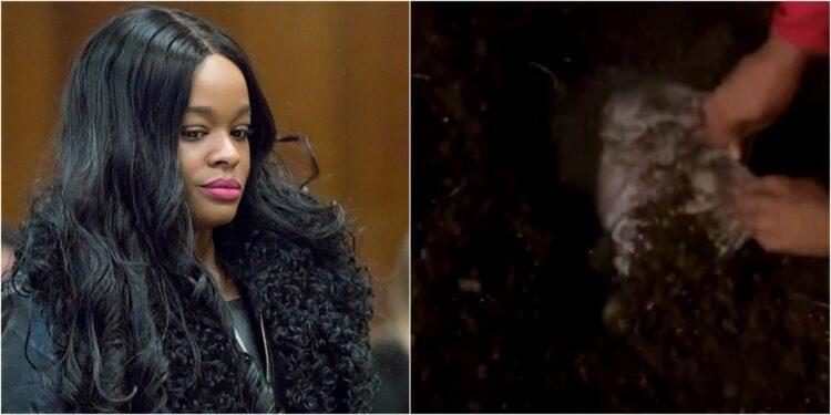 Kedisini tavada yakan Azelia Banks isyan etti