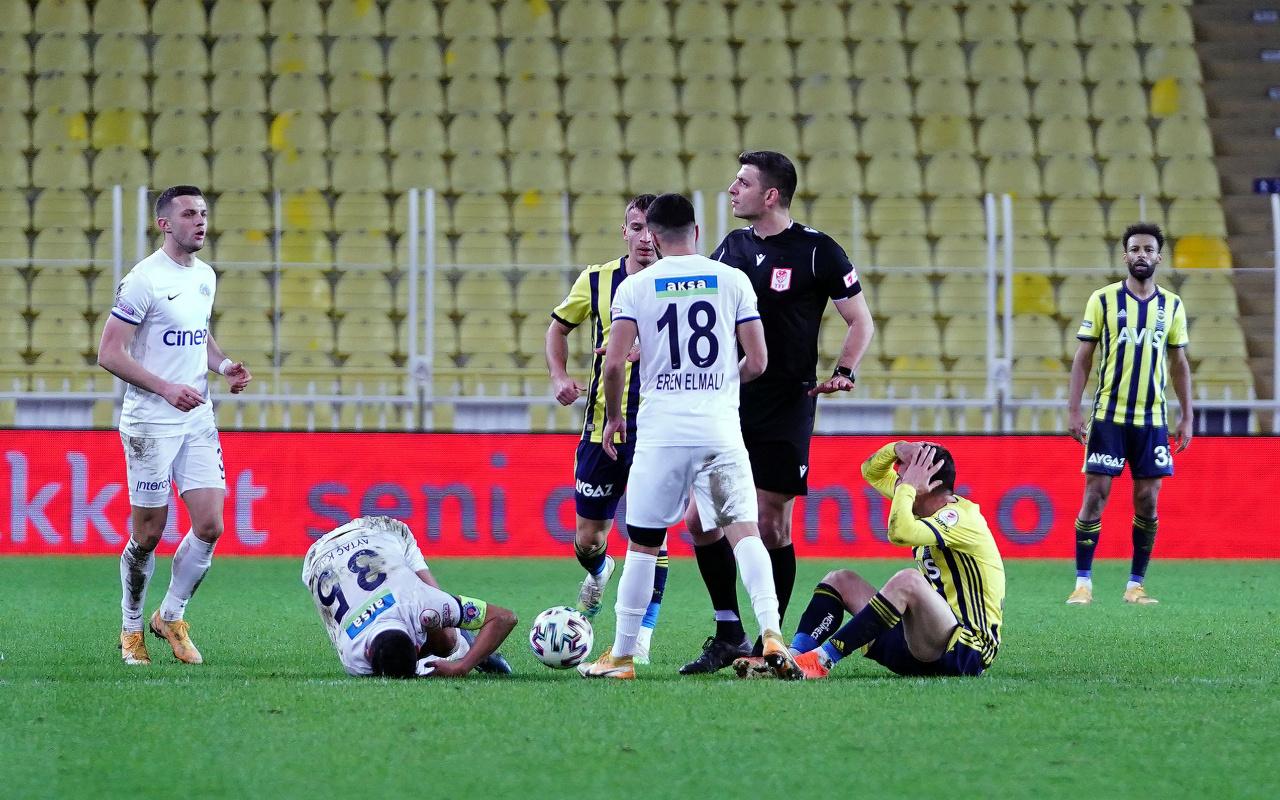 Fenerbahçe'den Mert Hakan Yandaş'ın kırmızı kartına tepki!