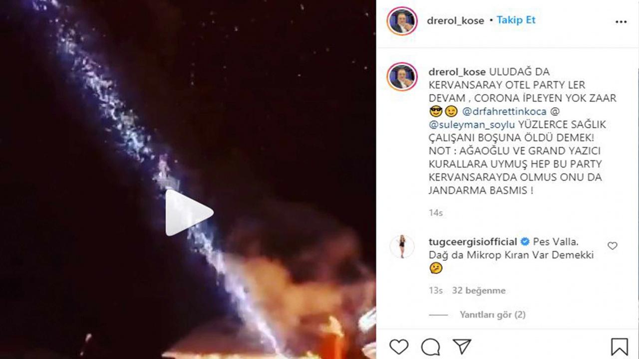 Erol Köse'den olay yaratan paylaşım! Fahrettin Koca'yı etiketleyip ifşa etti!