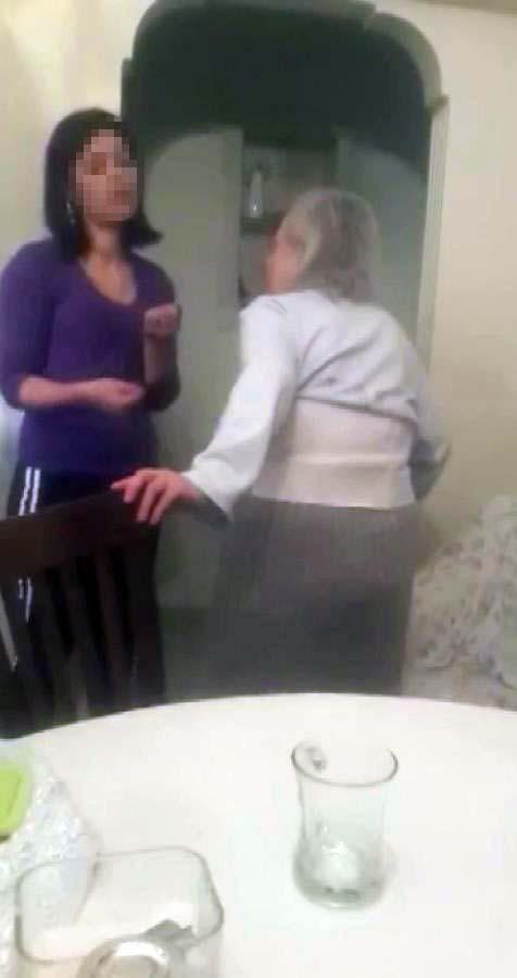 İstanbul'da dehşete düşüren olay kamerada! Bakıcıdan, yaşlı kadına şiddet ve cinsel içerikli taciz