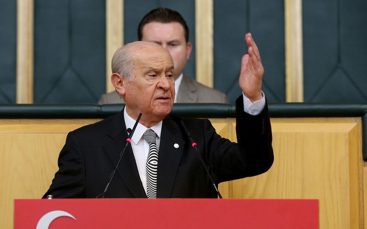 Son dakika... MHP Genel Başkanı Bahçeli: Milliyetçi Hareket Partisi'nin sokakta işi yoktur