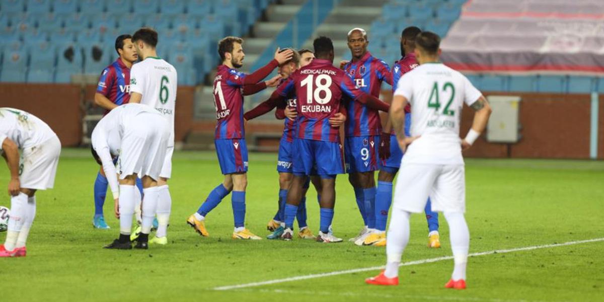Trabzonspor 3 - 0 Konyaspor | MAÇ SONUCU