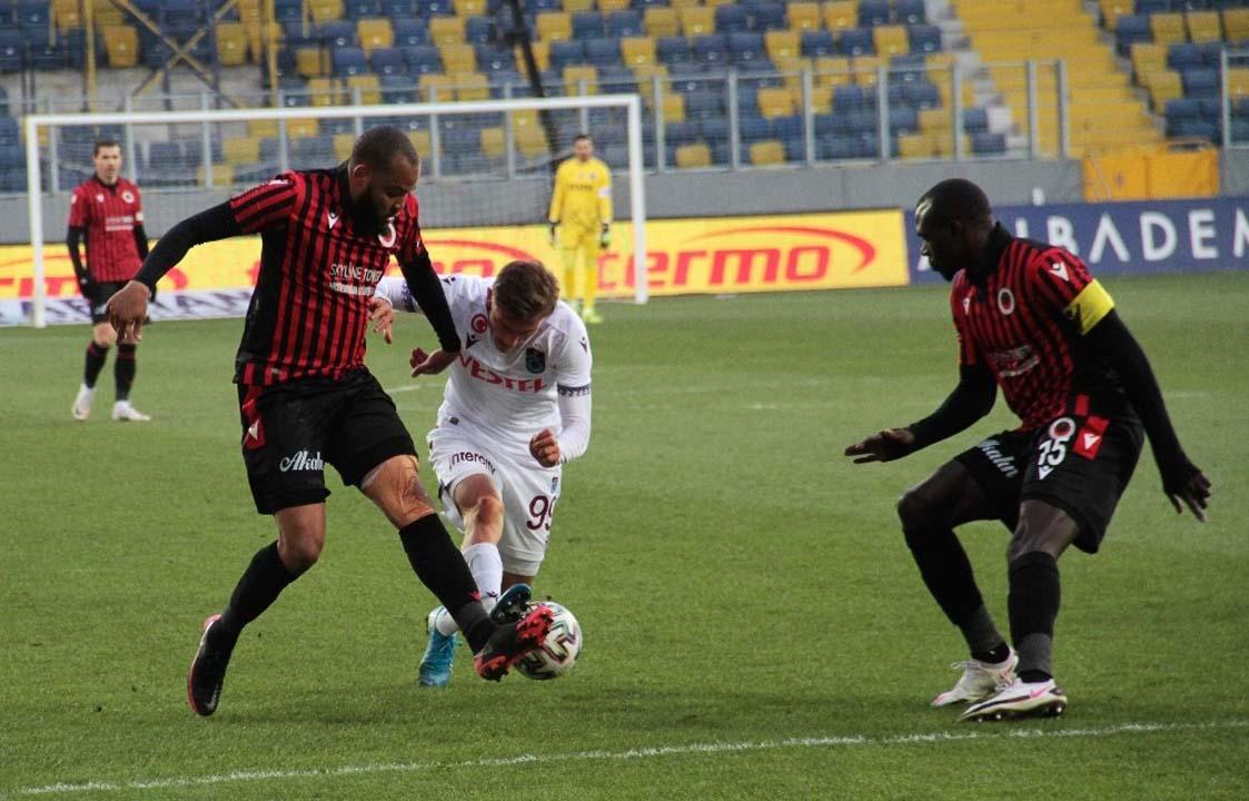 Trabzonspor, Gençlerbirliği deplasmanında hanesine 3 puanı yazdırdı!
