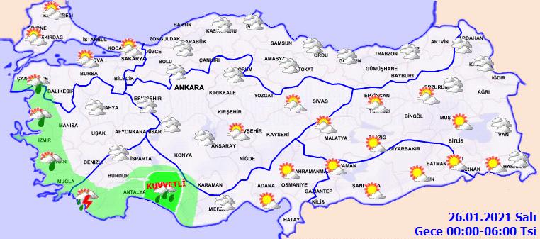 Meteorolojiden gelen uyarıların arkası kesilmiyor: Çok kuvvetli geliyor, dikkatli olun!