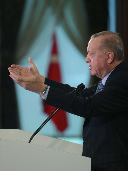 Cumhurbaşkanı Erdoğan'dan militan eleştirisi: Bunun adı siyaset değil siyasetsizliktir!