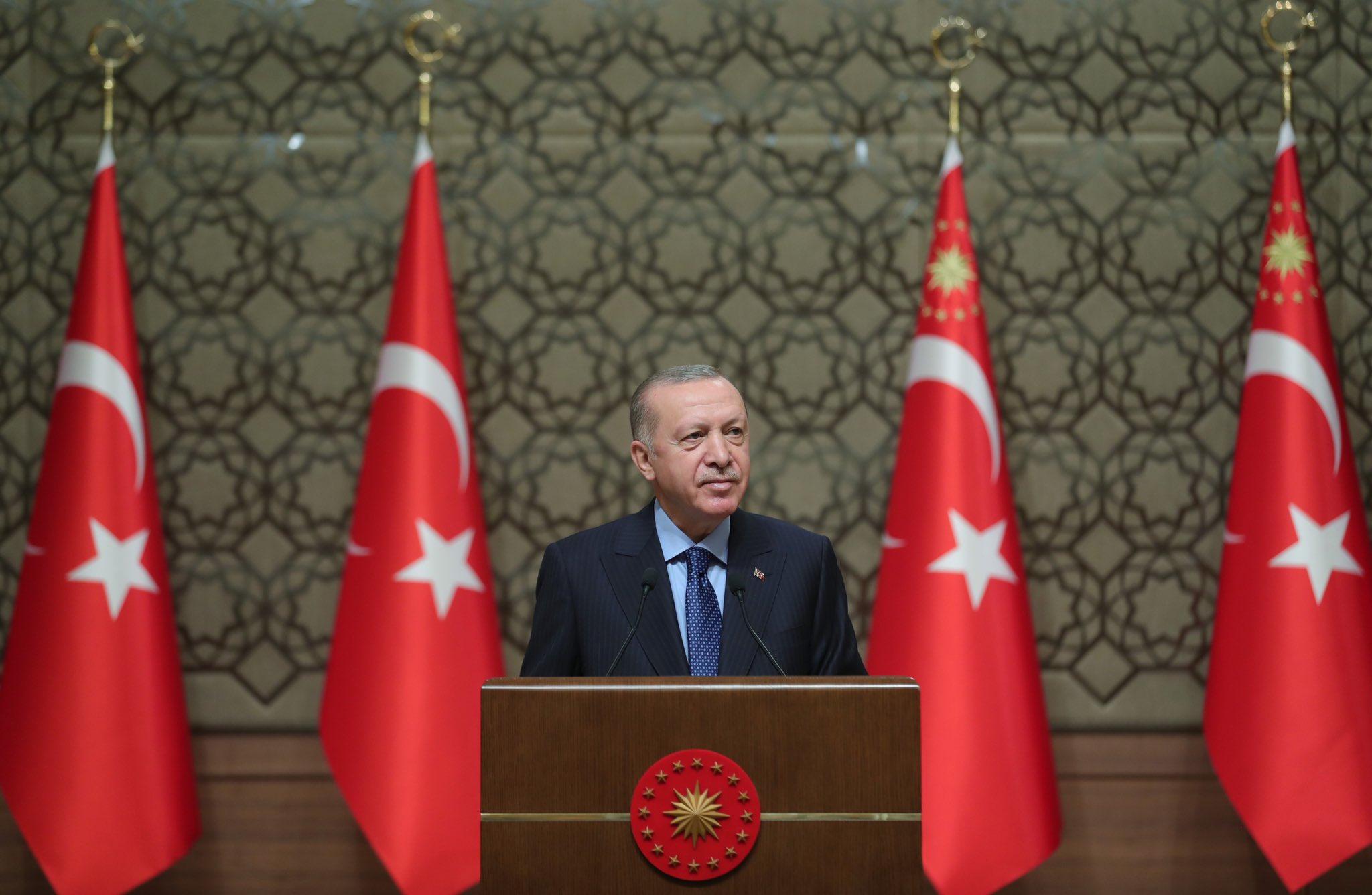 Cumhurbaşkanı Erdoğan'dan yerli aşı müjdesi: 3 aşı faz aşamasına başlamak üzere