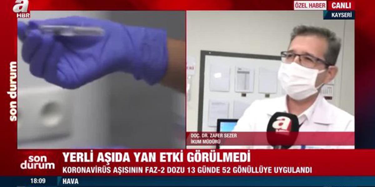 Yerli aşı vatandaşlara ne zaman uygulanacak? Yetkili isim açıkladı