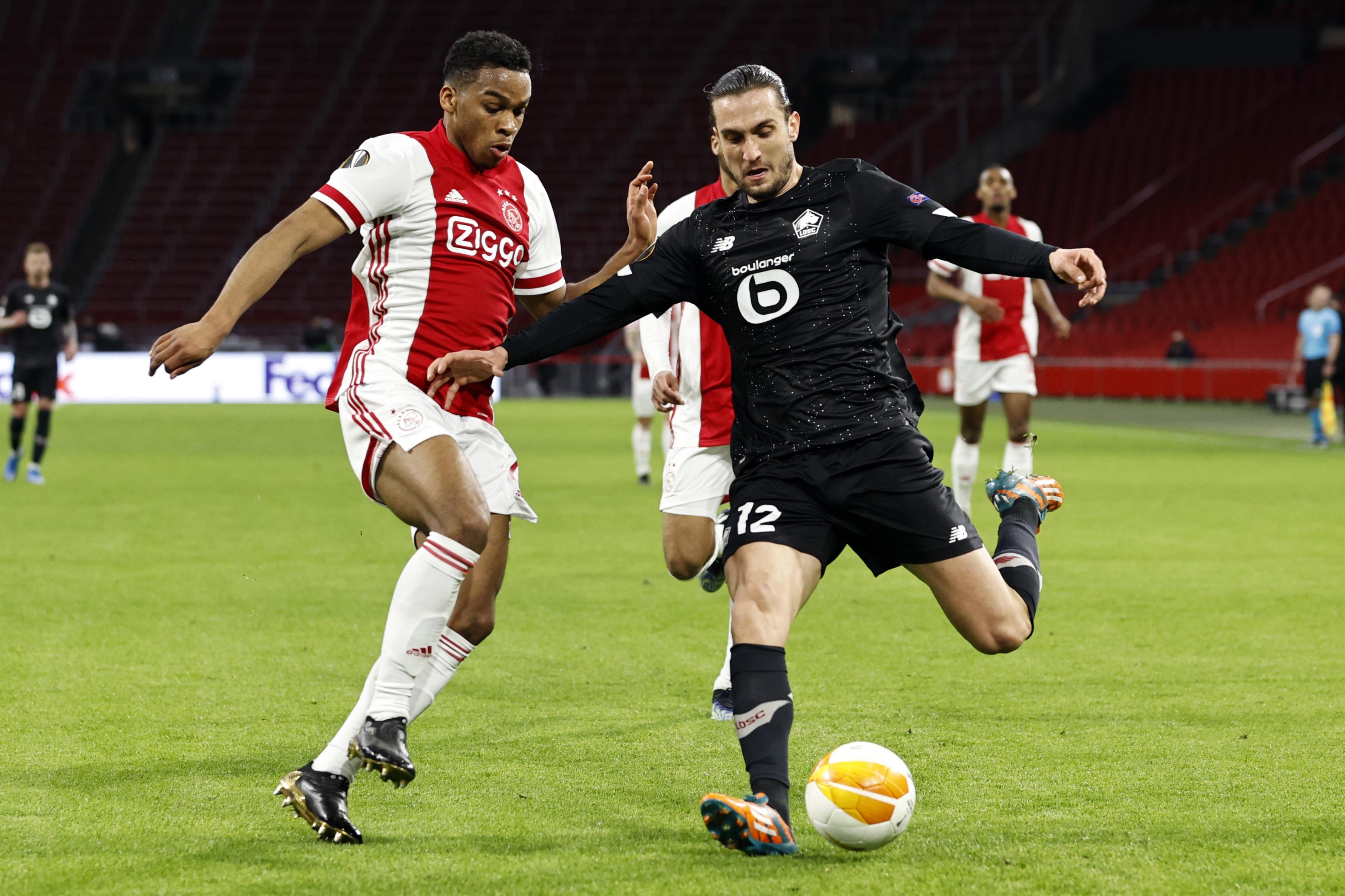 Ajax Lille maç özeti izle 1-2! Yusuf Yazıcı gol attı, tarihe geçti