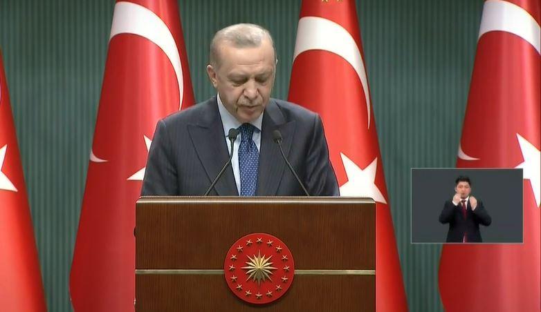 Hangi illerde kısıtlamalar kalkacak? Cumhurbaşkanı Erdoğan açıklamalarda bulunuyor
