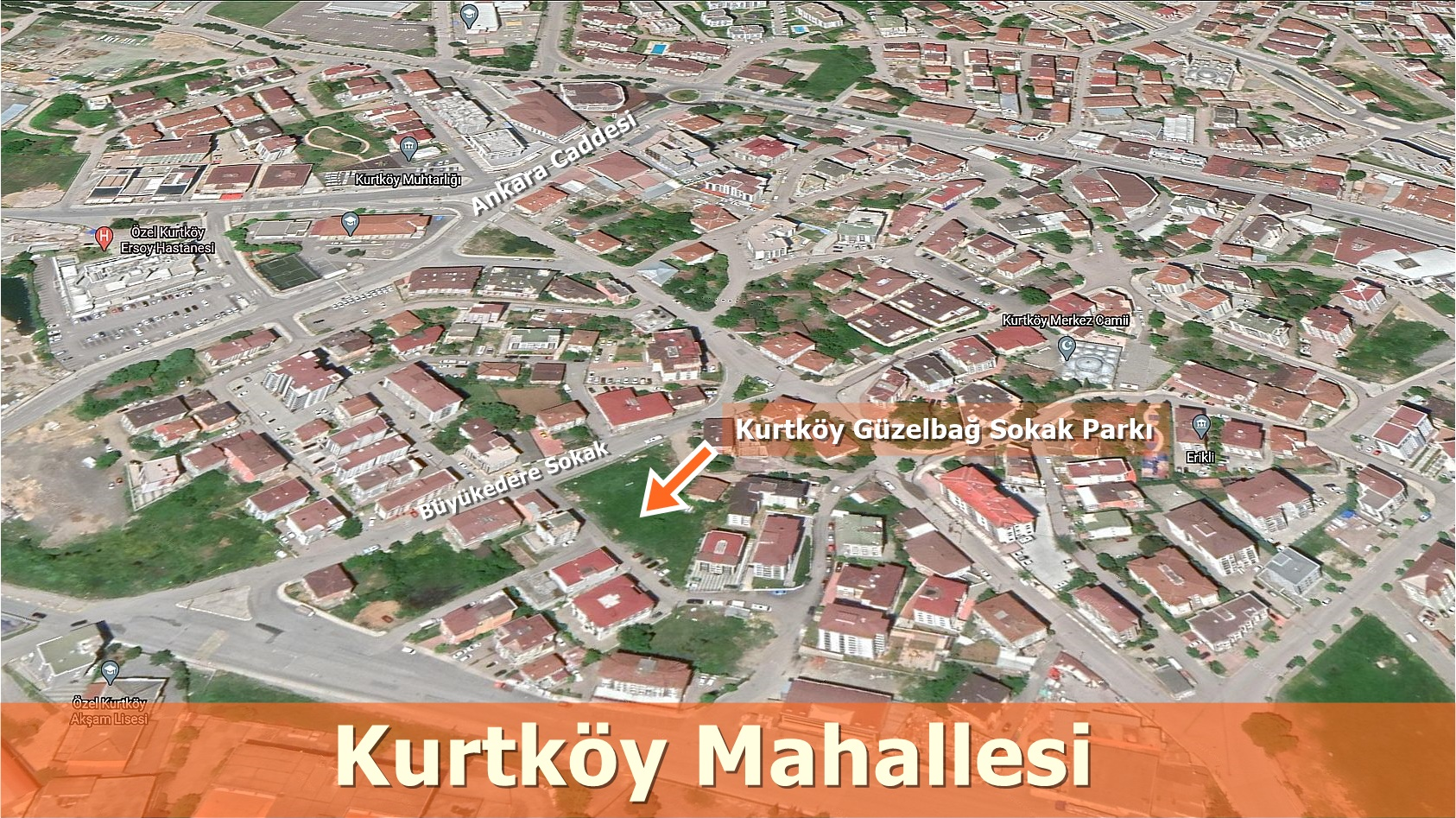 Kurtköy Güzelbağ Sokak Parkı Pendik'e kazandırıldı!