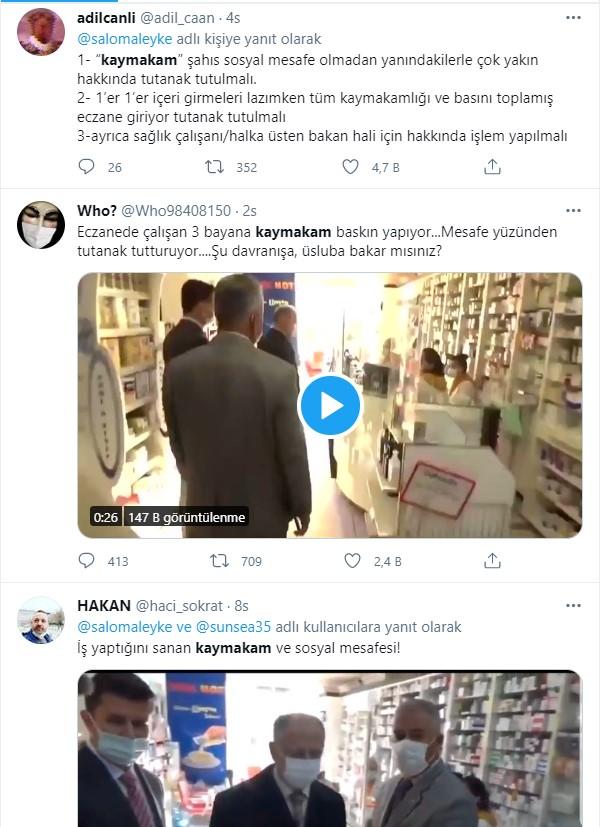 Zonguldak Ereğli Kaymakamı Edip Çakıcı tepki çekti! Su içen eczane çalışanlarına ceza kesilmesini istedi