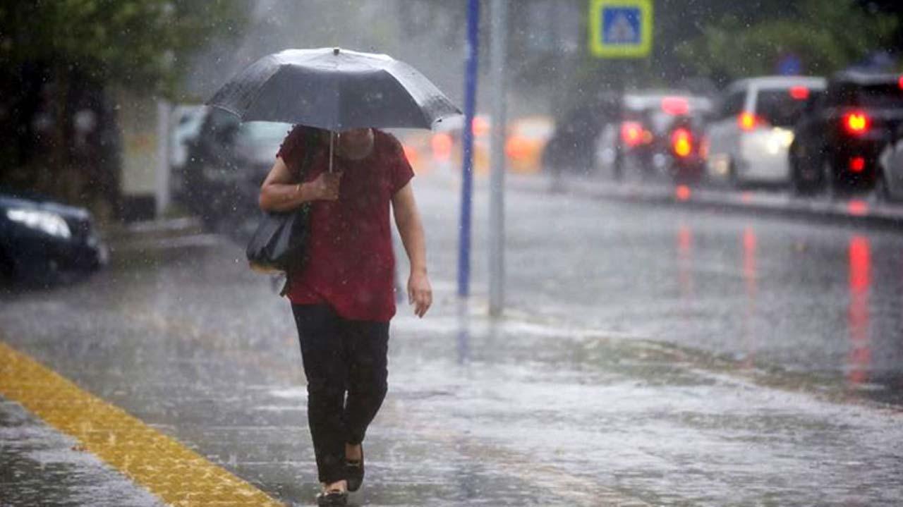 Meteoroloji'den sağanak yağış uyarısı! Tüm Türkiye hissedecek