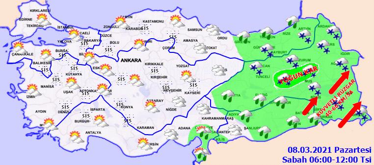 Meteoroloji Genel Müdürlüğü uyardı: Sıcaklıklar mevsim normallerinin üzerine çıkıyor