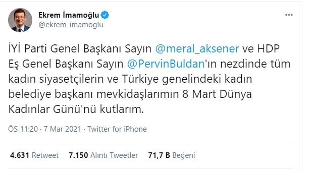 İmamoğlu'na bir tepki de İYİ Partili Ahmet Çelik'ten: Bakış açınız bu ise sizinle yolumuzu ayırırız