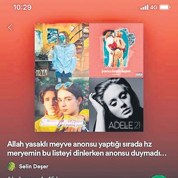 Dünyaca ünlü müzik platformunda skandal: Spotify'da 'Hz Ali'nin makas atarken dinlediği şarkılar' isimli liste var!