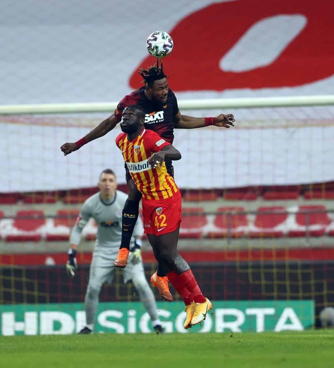 Galatasaray, HES Kablo Kayserispor'u 3- 0 mağlup etti!