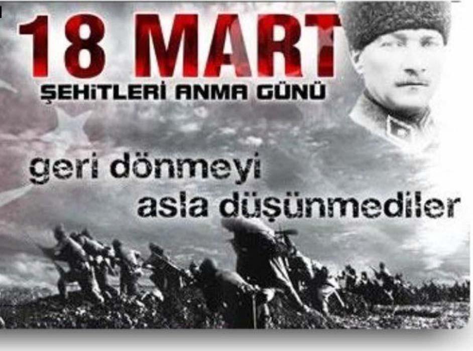 18 Mart Çanakkale Zaferi ile ilgili en güzel sözler | 18 Mart Çanakkale Zaferi kutlama mesajları resimli