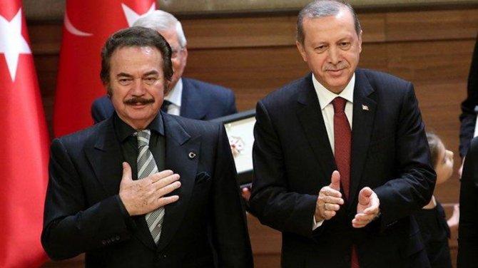 Orhan Gencebay'dan Cumhurbaşkanına övgü dolu sözler