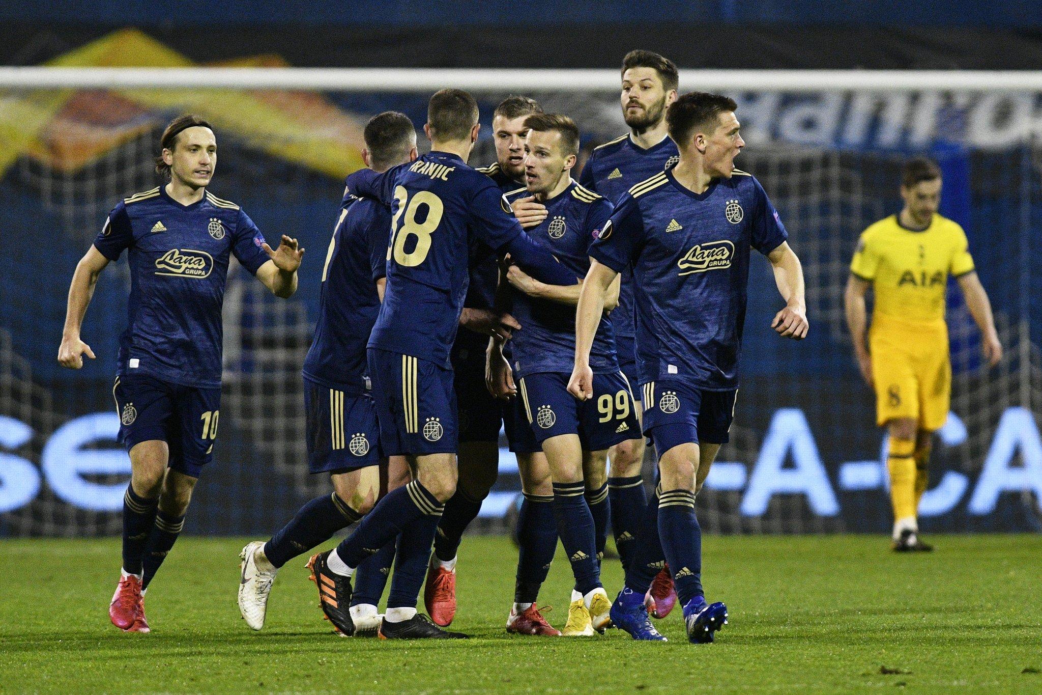 Dinamo Zagreb- Tottenham maç özeti izle 3-0! Orsic attığı gollere maça damga vurdu