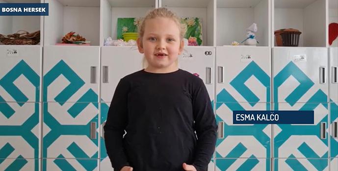 Tuzla'da Dünya Çocuk Şiirleri Günü kutlandı: ''Bir Dünya Bırakın Biz Çocuklara''