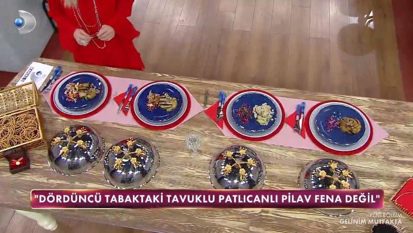 Gelinim Mutfakta Tavuklu patlıcanlı pilav tarifi | Tavuklu patlıcanlı pilav nasıl yapılır? Malzemeleri nelerdir?