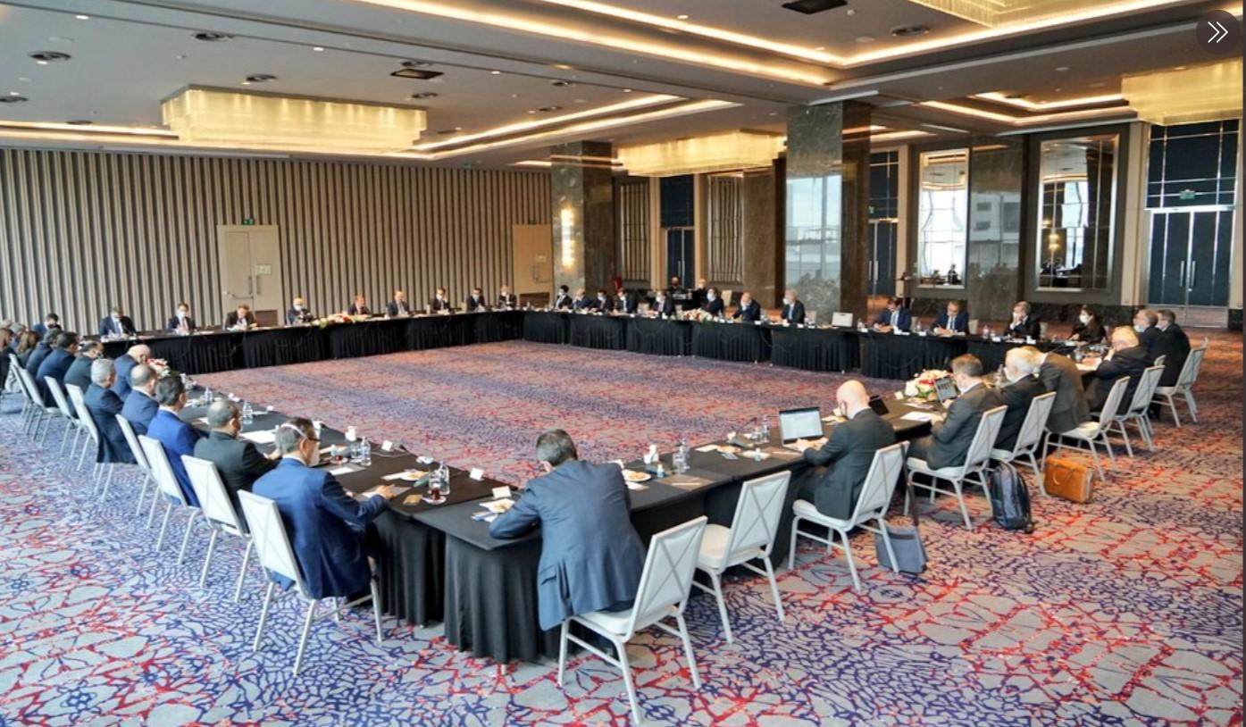 Merkez Bankası Başkanı Kavcıoğlu, banka yöneticileriyle görüştü: Verimli bir toplantı oldu!