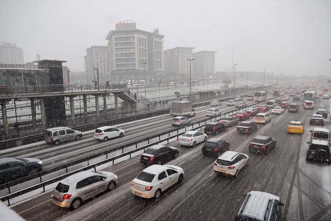 İstanbul trafik yoğunluğu, İstanbul trafik durumu canlı 25 mart 2021