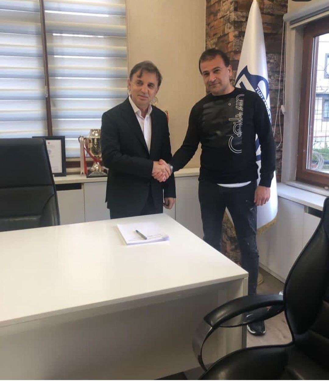Resmen duyuruldu! Tuzlaspor'un yeni teknik direktörü Suat Kaya oldu