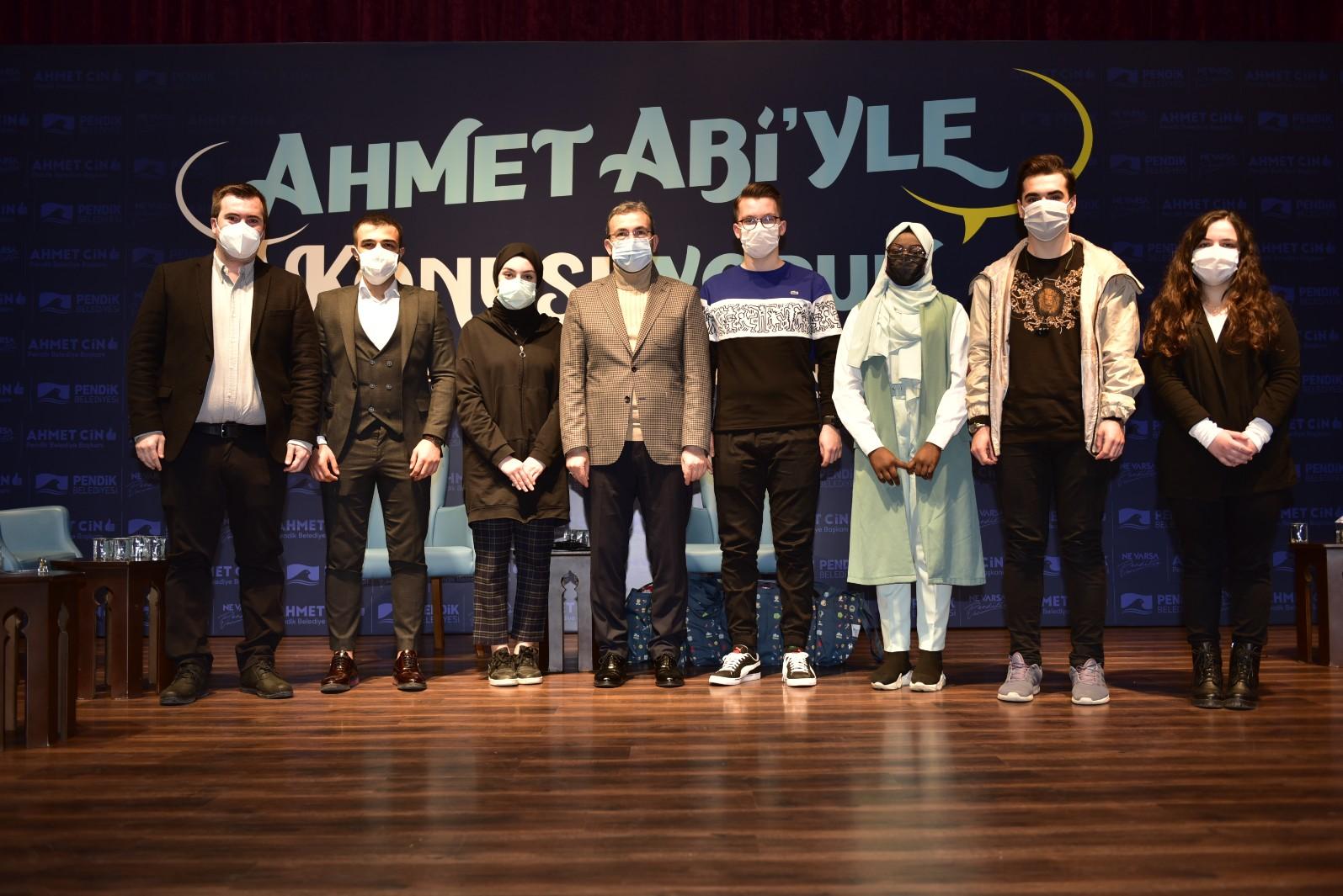 Başkan Ahmet Cin, gençlerin Pendik hayallerini dinledi!