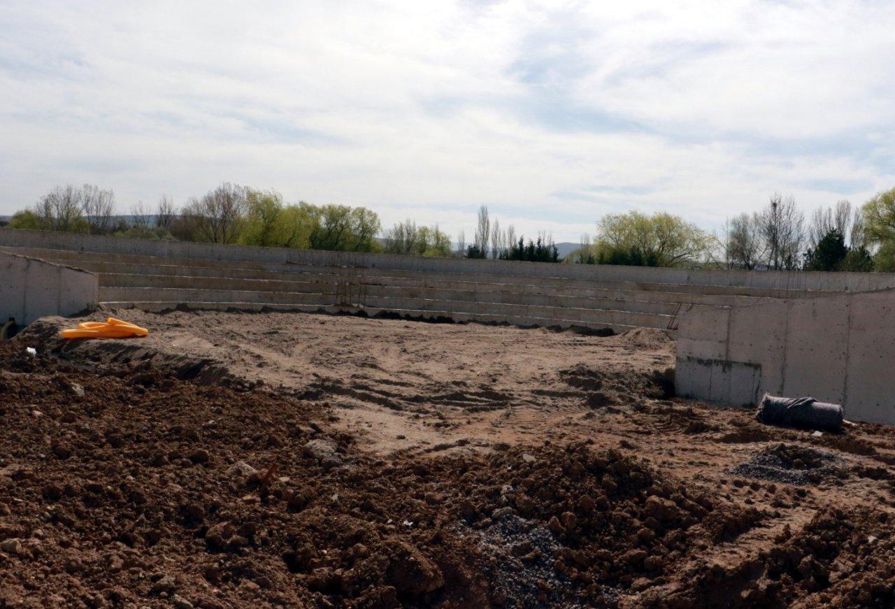 Kırıkkale millet bahçesinin inşaatının yıl sonunda biteceği söyleniyor